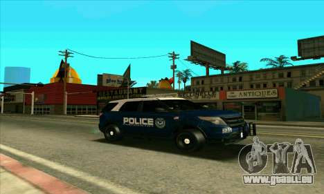 FCPD Ford Explorer 2013 pour GTA San Andreas