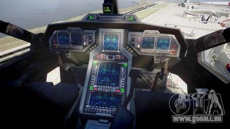 VTOL Warship PJ2 für GTA 4 rechte Ansicht