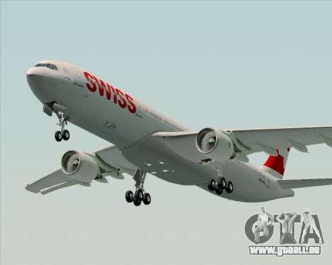 Airbus A330-300X Swiss International Air Lines pour GTA San Andreas laissé vue