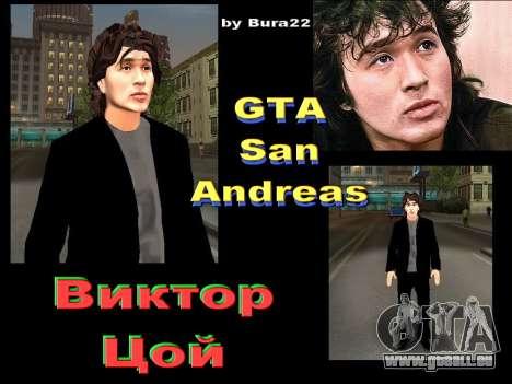 Viktor Tsoi pour GTA San Andreas