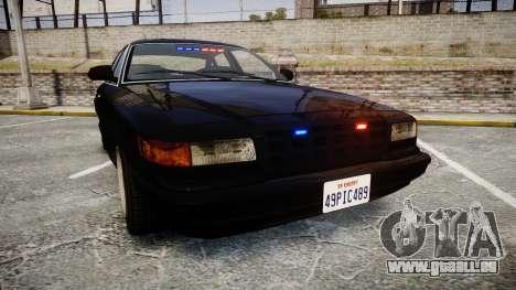 GTA V Vapid Stanier FIB [ELS] pour GTA 4
