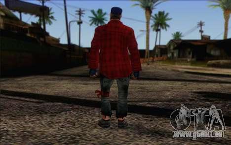 Vagabonds Skin 3 pour GTA San Andreas deuxième écran