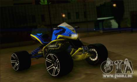 ATV Quad pour GTA San Andreas
