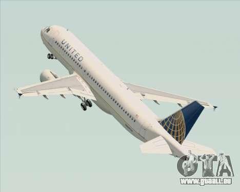Airbus A320-232 United Airlines für GTA San Andreas