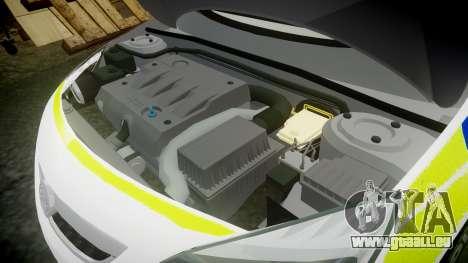 Vauxhall Astra Estate Metropolitan Police [ELS] für GTA 4 Seitenansicht