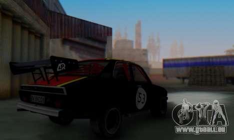 Dacia 1410 Sport pour GTA San Andreas vue arrière