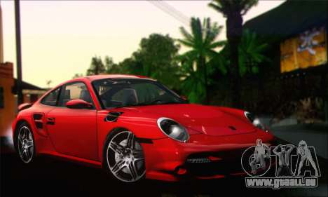 Porsche 997 Turbo Tunable pour GTA San Andreas