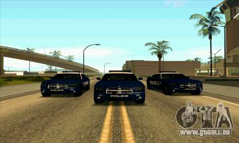 FCPD Dodge Charger SRT8 für GTA San Andreas