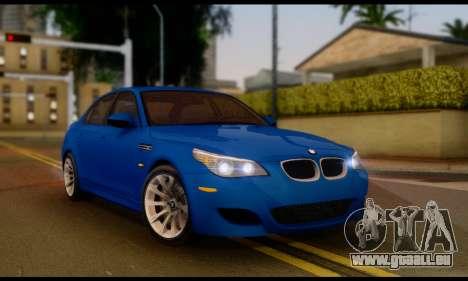 BMW M5 E60 2006 pour GTA San Andreas