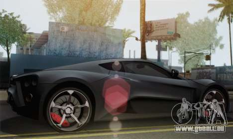 Zenvo ST1 v1.2 Final HD für GTA San Andreas linke Ansicht