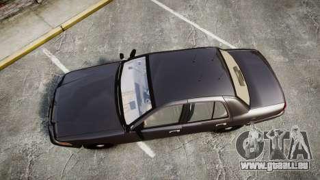 Ford Crown Victoria LASD [ELS] Unmarked pour GTA 4 est un droit