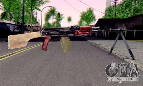 RPK-74 von ArmA 2 für GTA San Andreas zweiten Screenshot