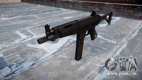 Pistolet Taurus MT-40 buttstock2 icon2 pour GTA 4
