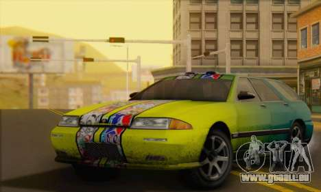 GTA 5 Stratum für GTA San Andreas obere Ansicht