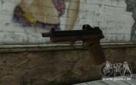 FN FNP-45 Avec Vue pour GTA San Andreas