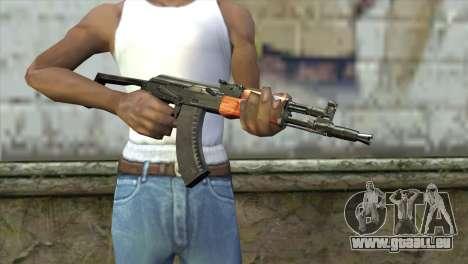 AK-105 pour GTA San Andreas troisième écran