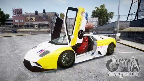 Lamborghini Murcielago GT1 Hanayo Koizumi für GTA 4 Innenansicht