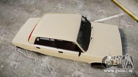VAZ-2107 azerbaïdjanais style pour GTA 4 est un droit