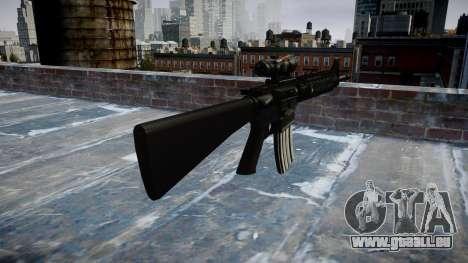 Fusil M16A4 ACOG pour GTA 4 secondes d'écran