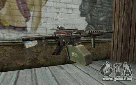 Gun Ares Shrike für GTA San Andreas zweiten Screenshot