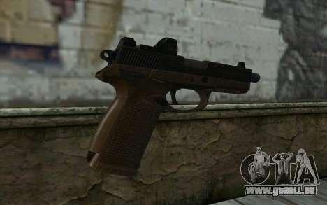 FN FNP-45 Avec Vue pour GTA San Andreas deuxième écran
