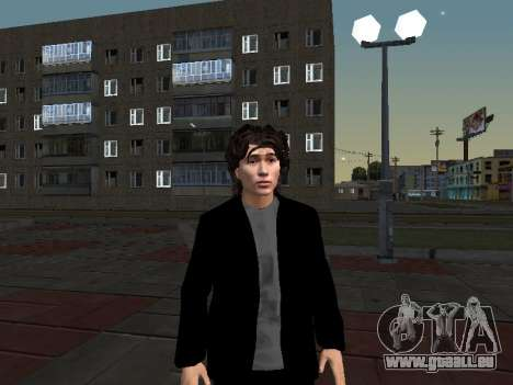 Viktor Tsoi pour GTA San Andreas deuxième écran