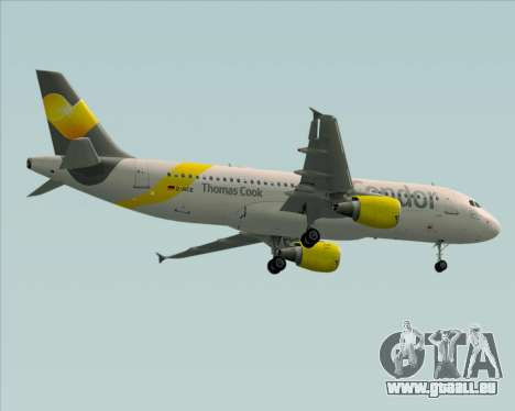 Airbus A320-212 Condor pour GTA San Andreas vue de côté