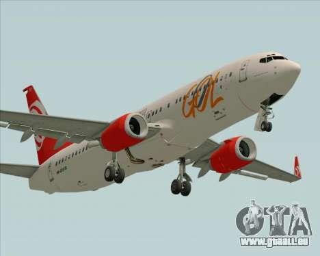 Boeing 737-800 Gol Transportes Aéreos pour GTA San Andreas laissé vue