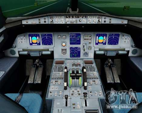 Airbus A321-200 TAP Portugal für GTA San Andreas Innen