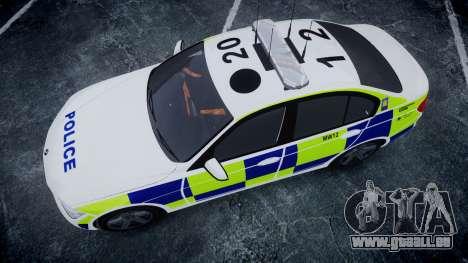 BMW 335i 2013 Central Motorway Police [ELS] für GTA 4 rechte Ansicht
