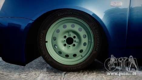 VAZ-2170 Priora emboutissage pour GTA 4 Vue arrière