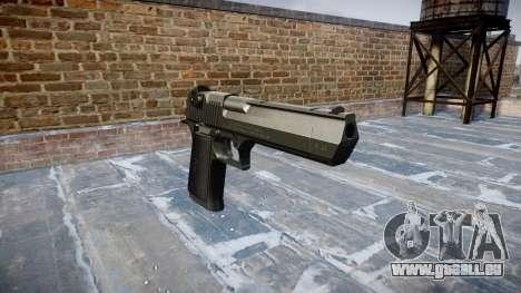 Pistole IMI Desert Eagle Mk XIX Schwarz für GTA 4