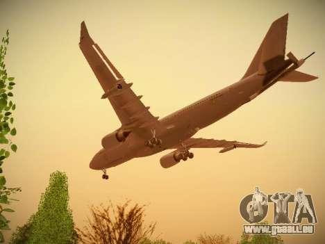Airbus KC-45A (A330-203) Australian Air Force für GTA San Andreas Unteransicht