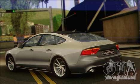 Audi A7 pour GTA San Andreas laissé vue