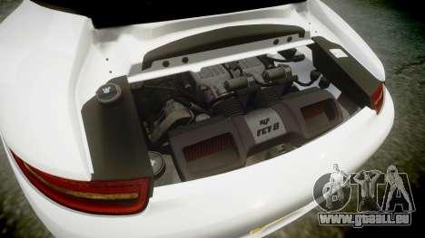Ruf RGT-8 pour GTA 4 vue de dessus