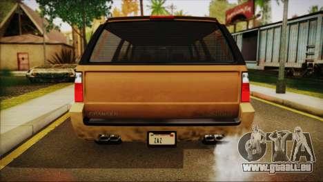 GTA 5 Granger für GTA San Andreas rechten Ansicht
