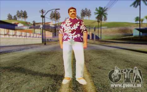 Diaz Gang from GTA Vice City Skin 1 pour GTA San Andreas