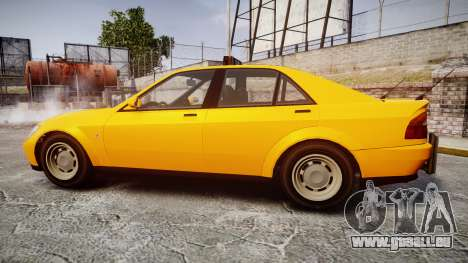 Karin Sultan Taxi für GTA 4 linke Ansicht