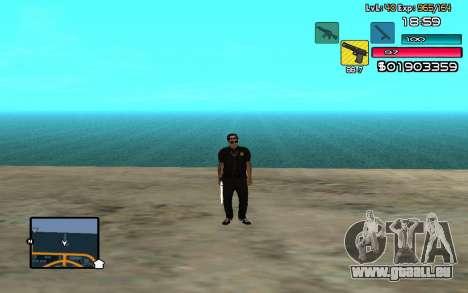 C-HUD by SampHack v.14 pour GTA San Andreas deuxième écran