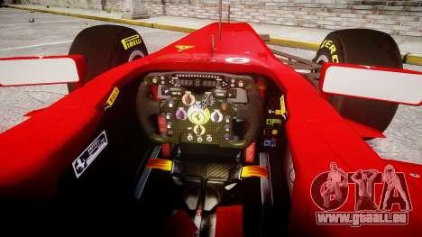 Ferrari 150 Italia Alonso pour GTA 4 Vue arrière