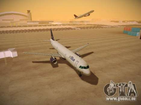 Airbus A321-232 jetBlue Woo-Hoo jetBlue pour GTA San Andreas vue intérieure