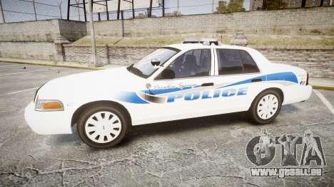Ford Crown Victoria PS Police [ELS] pour GTA 4 est une gauche