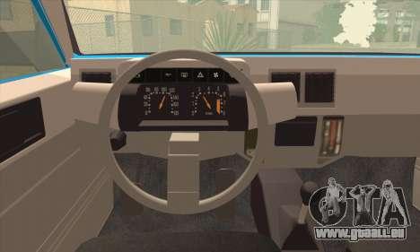 Oltcit Club 12 TRS pour GTA San Andreas sur la vue arrière gauche