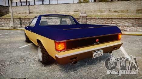 GTA V Cheval Picador pour GTA 4 Vue arrière de la gauche