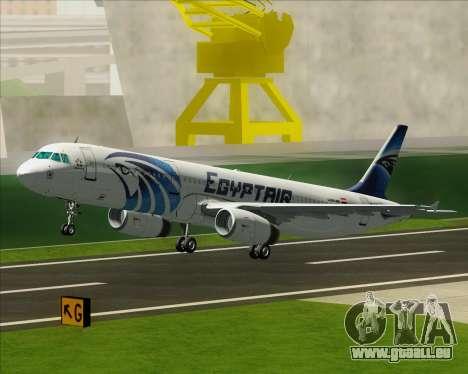 Airbus A321-200 EgyptAir für GTA San Andreas