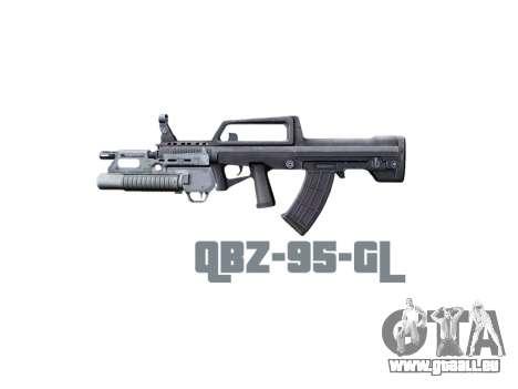 Machine QBZ-95-GL icon3 pour GTA 4 troisième écran