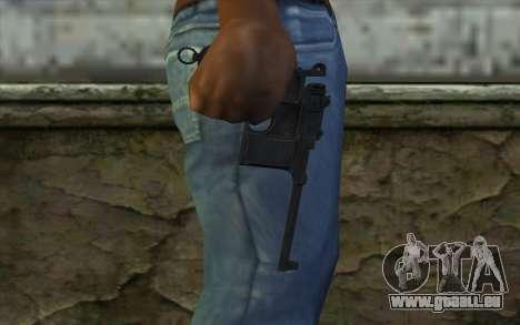Mauser C96 v2 pour GTA San Andreas troisième écran