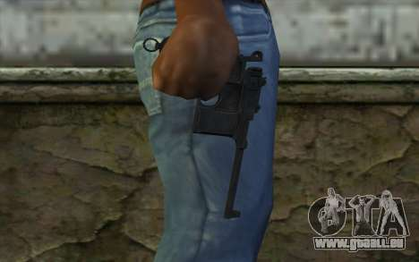 Mauser C96 v2 für GTA San Andreas dritten Screenshot