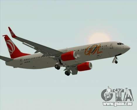 Boeing 737-800 Gol Transportes Aéreos pour GTA San Andreas roue