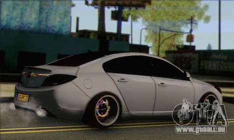 Opel Insignia pour GTA San Andreas laissé vue